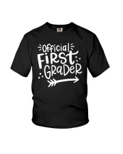 OFFICIAL FIRST GRADER Youth T-Shirt front