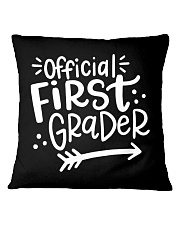 OFFICIAL FIRST GRADER Square Pillowcase thumbnail