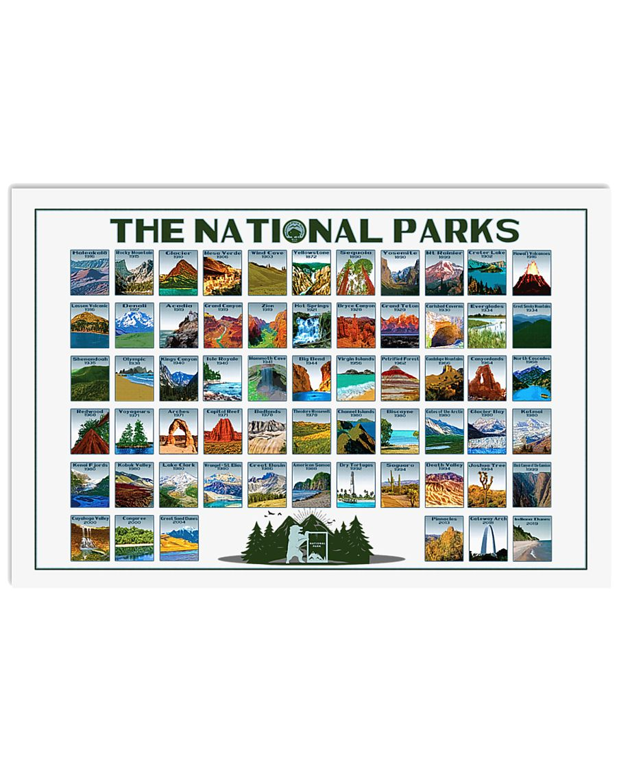 THE NATIONAL PARKS 24x16 Poster