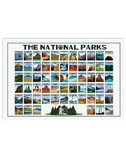 THE NATIONAL PARKS 24x16 Poster front
