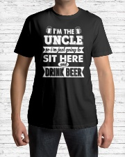 Sit here and drink beer Classic T-Shirt lifestyle-mens-crewneck-front-1