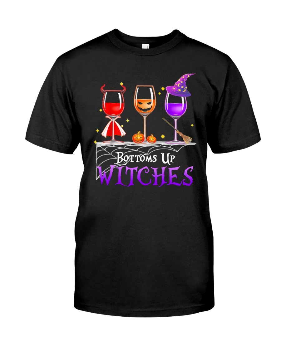 BOTTOMS UP WITCHES Classic T-Shirt