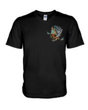 ZERO SKULL V-Neck T-Shirt thumbnail