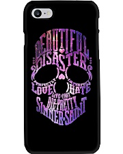 BEAUTIFUL DISASTER Phone Case tile