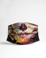 BUTTERFLIES SKULL Cloth face mask aos-face-mask-lifestyle-22