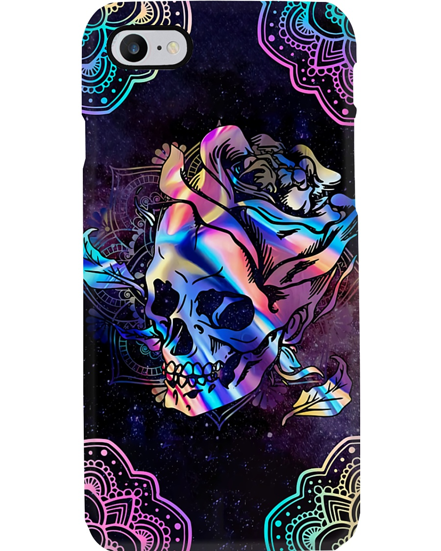 Skull Rose Phone Case