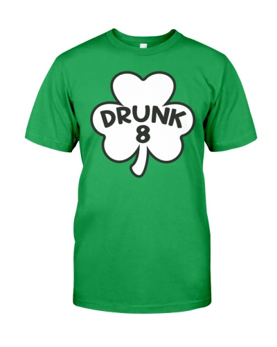 DRUNK 8 T-SHIRT