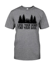 LOSE YOUR MIND - FIND YOUR SOUL Classic T-Shirt thumbnail