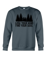 LOSE YOUR MIND - FIND YOUR SOUL Crewneck Sweatshirt thumbnail
