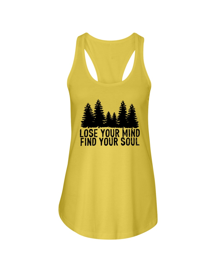 LOSE YOUR MIND - FIND YOUR SOUL Ladies Flowy Tank