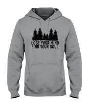 LOSE YOUR MIND - FIND YOUR SOUL Hooded Sweatshirt thumbnail