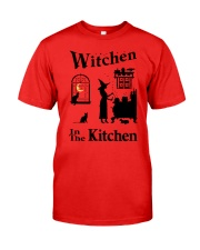 WITCHEN IN THE KITCHEN Classic T-Shirt front