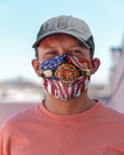 FLAG FIREFIGHTER Cloth Face Mask - 3 Pack aos-face-mask-lifestyle-06