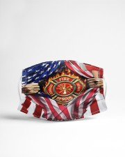 FLAG FIREFIGHTER Cloth Face Mask - 3 Pack aos-face-mask-lifestyle-22