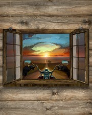 SUNSET RIDE 24x16 Poster aos-poster-landscape-24x16-lifestyle-15
