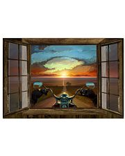 SUNSET RIDE 24x16 Poster front
