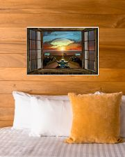 SUNSET RIDE 24x16 Poster poster-landscape-24x16-lifestyle-27