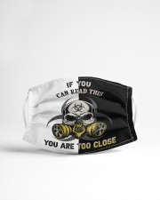 YOU ARE TO CLOSE Cloth face mask aos-face-mask-lifestyle-22