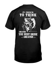 Like a fish Classic T-Shirt back