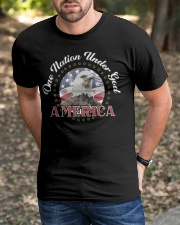ONE NATION UNDER GOD Classic T-Shirt apparel-classic-tshirt-lifestyle-front-52