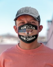 STAND FOR THE FLAG Cloth Face Mask - 3 Pack aos-face-mask-lifestyle-06
