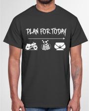 BIKER PLAN T-SHIRT Classic T-Shirt garment-tshirt-unisex-front-03