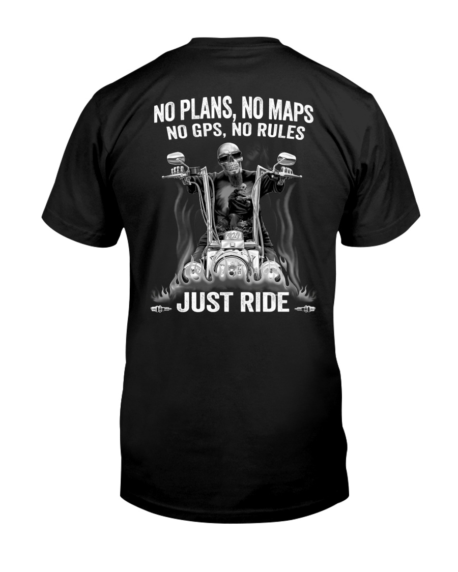 NO RULES JUST RIDE Classic T-Shirt