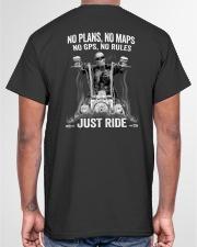 NO RULES JUST RIDE Classic T-Shirt garment-tshirt-unisex-back-04