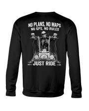 NO RULES JUST RIDE Crewneck Sweatshirt thumbnail