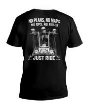 NO RULES JUST RIDE V-Neck T-Shirt thumbnail