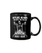 NO RULES JUST RIDE Mug thumbnail