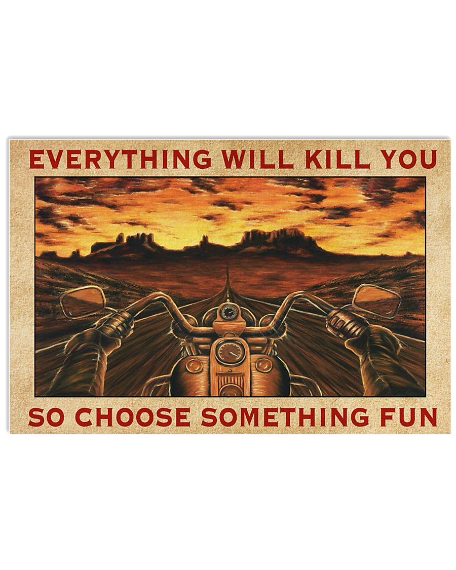 CHOOSE SOMETHING FUN 24x16 Poster