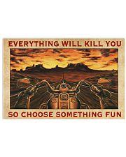 CHOOSE SOMETHING FUN 24x16 Poster front