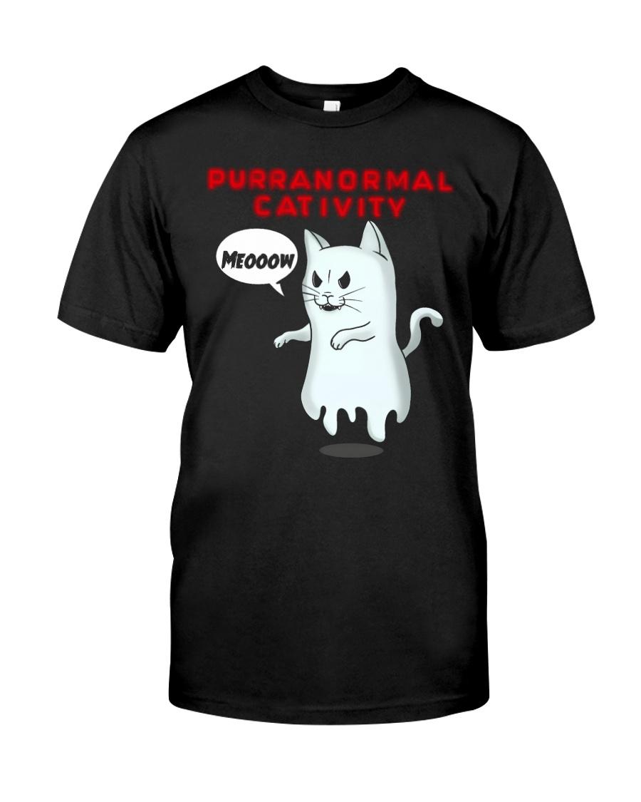 PURRANORMAL CATIVITY Classic T-Shirt