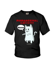 PURRANORMAL CATIVITY Youth T-Shirt thumbnail