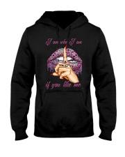 YOU LIKE ME Hooded Sweatshirt thumbnail
