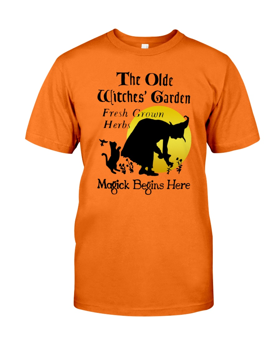 THE OLD WITCHES' GARDEN Classic T-Shirt