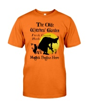 THE OLD WITCHES' GARDEN Classic T-Shirt front