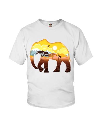 LANDSCAPE ELEPHANT