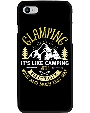 GLAMPING - CAMPING WITH ELECTRICITY Phone Case thumbnail