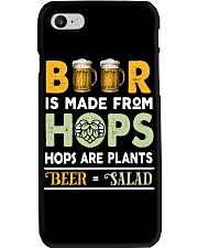 BEER IS MADE FROM HOPS Phone Case thumbnail