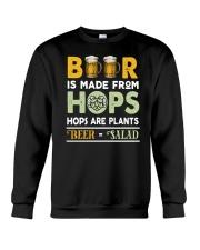 BEER IS MADE FROM HOPS Crewneck Sweatshirt thumbnail