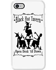 BLACK HAT TAVERN OPEN DUSK TIL DAWN Phone Case thumbnail