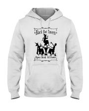 BLACK HAT TAVERN OPEN DUSK TIL DAWN Hooded Sweatshirt thumbnail
