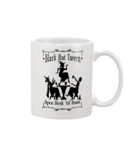 BLACK HAT TAVERN OPEN DUSK TIL DAWN Mug thumbnail