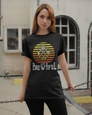 LIFE IS BREWTIFUL  Classic T-Shirt apparel-classic-tshirt-lifestyle-19