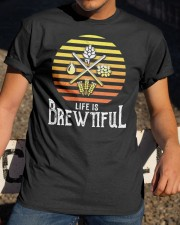 LIFE IS BREWTIFUL  Classic T-Shirt apparel-classic-tshirt-lifestyle-28