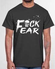 Skull drink beer Classic T-Shirt garment-tshirt-unisex-front-03