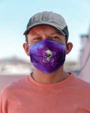 Skull - Floral - 4 Cloth face mask aos-face-mask-lifestyle-06