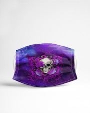 Skull - Floral - 4 Cloth face mask aos-face-mask-lifestyle-22